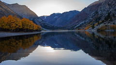 Lundy Lake (Middle aged Nikonite) Tags: lundy lake california nikon d750 vista sunset fall autumn colors landscape nature reflections water mountains trees