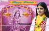 Devi Chitralekha Ji-Diwali-Wishes (totalbhaktiportal) Tags: deepawaliimages diwali wallpaper guru