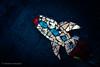 Rocket Shards (jazmineg39) Tags: rocket mosaic shards glass space lasvegas nevada lightroom
