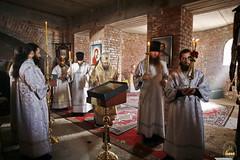 14. Первая литургия в с. Адамовка