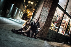 Goth & Grunge Photoshoot (NONfinis) Tags: stockcategories seattlegrunge gothgrungephotoshoot city gothphotoshoot rebeccarose ©nonfinis downtownseattle urban models tonyhollis bricks rebeccafranklin modeling grunge streets brickwork seattle washington unitedstates