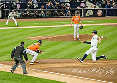 Judge slides back into first base (EASY GOER) Tags: newyorkyankees yankees astros
