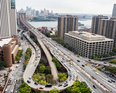 Brooklyn Bridge Access Roads, Lower Manhattan, New York City (jag9889) Tags: 2017 20171014 aerialview architecture auto automobile bridge bridges brooklyn brooklynbridge bruecke brücke building car civiccenter crossing davidndinkinsmunicipalbuilding downtownbrooklyn eastriver event financialdistrict fluss helix house infrastructure k130 kingscounty landmark lowermanhattan manhattan manhattanboroughhall manhattanmunicipalbuilding municipalbuilding ny nyc newyork newyorkcity newyorkisopen ohny ohnyweekend openhouse openhousenewyork outdoor people pont ponte puente punt river road span structure suspensionbridge tower transportation usa unitedstates unitedstatesofamerica vehicle walkway wasser water waterway jag9889