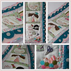 0056 - TBH - La Feliz Cosedora (Sandra Janeth Saa Martínez) Tags: tbh patchwork quilt apliques hechoamano