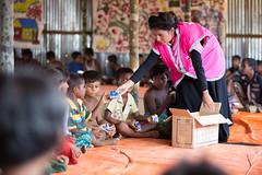 Humanitarian aid for people from the Rakhine state of Myanmar (bracworld) Tags: humanitarian crisis aid rakhine myanmar bangladesh coxs bazar relief emergency response safe water childcare neonatalhealth maternalhealth nonfood items