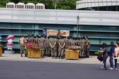 ROK Soldiers Visit the 3rd Tunnel (H.E.A.R.T. Productions) Tags: public complete pajusi gyeonggido southkorea kr