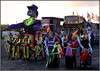 Halloween's on it's way! (* RICHARD M (Over 7 MILLION VIEWS)) Tags: street candid costumes halloweencostumes fancydress dusk skeletons skeletoncostumes masks spooky eerie scary parades october southport sefton merseyside england unitedkingdom uk greatbritain britain britishisles britishtraditions allhallowseve halloween uhoh flags trickortreat
