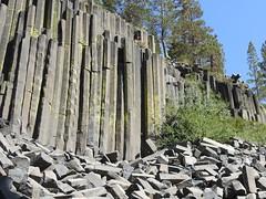 California, Mammoth Lakes, Devils Postpile National Monument DSCN0463 (ianw1951) Tags: basalt california columnarjointing lava usa geology