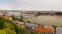 The Danube (akibamir9) Tags: budapest hungary pest danube river overlook views