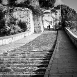 The stairs - Paola, Italy - Black and white street photography thumbnail