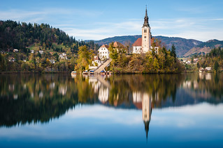 Island Church in Bled