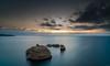 Fontane Bianche Sunrise - Sicily 2017 (scamart1st) Tags: fontane bianche sicily east nikon d750 24120 nd1000 10 stop filter sea meditteranean med blue longexposure