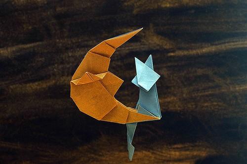 Moon rabbit | Origami art, Moon crafts, Origami | 333x500