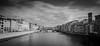 Ponte Vecchio Florence (David-Charles Arrivé1) Tags: 5dmarkii 1740l nb bw italie toscane florence firenze