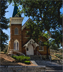 Frontier Church (RiverBearPhoto) Tags: nevada austin loneliest highway america 50 us episcopal church lincoln