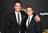 James Franco and Dave Franco attend the 21st Annual Hollywood Film Awards at The Beverly Hilton Hotel on November 5, 2017 in Beverly Hills, California. (Photo by Frazer Harrison/Getty Images for HFA)