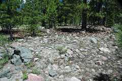 Volcanic debris flow deposit (upper Holocene, May 1915; Devastated Area, Lassen Volcano National Park, California, USA) 12 (James St. John) Tags: devastated area volcanic debris flow deposit 1915 mt lassen peak volcano national park california cascade range