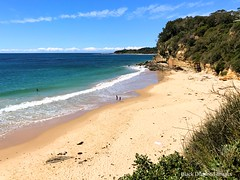 Jenny Dixons Beach looking South, Norah Head, Central Coast, NSW (Black Diamond Images) Tags: jennydixonsbeach jennydixonbeach norahhead noraville toukley centralcoast nsw beach australianbeaches iphone appleiphone7plus iphone7plus sawtoothhorizon jaggedhorizon