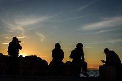 Sunset Photo Scene