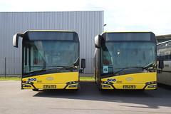 SRWT 5550-5551 (Public Transport) Tags: bus buses bussen belgique busen busz bussi solaris tecliègeverviers srwt transportencommun trasportopubblico liège luik