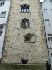 The Golden Tower (3 of 3) (jimsawthat) Tags: medieval residence tower stone urban regensburg germany architecture