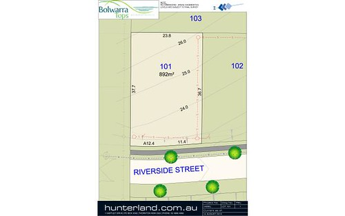 Lot 101 Riverside Street, Bolwarra Heights NSW 2320