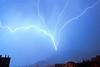 Eclair Ascendant 14 Mars 2015 (Enzo R.) Tags: storm orage éclair lightning blue landscape paysage bleu toulon provence night nuit flash nature weather météo