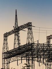 Conowingo Hydroelectric Station - Tamron 70-300mm - Canon 7Dm2 (abysal_guardian) Tags: darlington maryland unitedstates conowingo hydroelectric station tamron 70300mm canon 7dm2 eos 7dmarkii 7dmk2 7d mark ii tamronsp70300mmf456divcusd di vc usd f456 urban power lines us