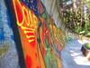 Sarajevo Olympic Bobsleigh and Luge Track (Maca Molina) Tags: sarajevo bobsleigh street art streetart blury