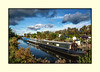 Houseboats at Isleham (fenman_1950) Tags: houseboat iselham river canal barge cloud stormy