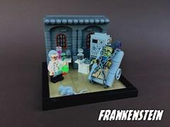 Frankenstein (-Wat-) Tags: trickortreat dead zombie monster frankenstein halloween lego