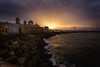 Magic Sunrise (flamesay) Tags: cadiz amanacer costa sunrise coast gades catedral mar cielo sky clouds sun alba crepusculo andalucia caleta flamesay canon haida lucroit