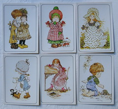 Vintage Sarah Kay stickers. Panini. (Old Paper Perfume) Tags: sarahkay hollyhobbie figuritas stickers vintagepaper ephemera collectible coleccionables panini italy italia seals scrapbooking crafts decoupage pastelcolors softcolors cute romantic gift christmasgift rare forher children 1980s niños illustration ilustración