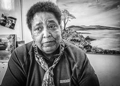 Yvonne, Painter (lyndakmorris) Tags: lynda morris lrps 2017 morden hall painter portrait