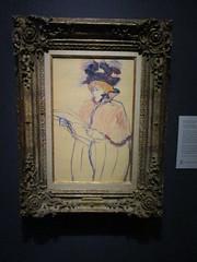 Jane Avril pastelle by Toulouse Lautrec (hartjeff12) Tags: kansascity missouri nelsonatkins toulouselautrec