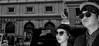 Gangnam style. (Baz 120) Tags: candid candidstreet candidportrait city candidface candidphotography contrast street streetphoto streetcandid streetphotography streetphotograph streetportrait rome roma romecandid em5 europe mft m43 monochrome monotone mono blackandwhite bw urban voightlander12mmasph life primelens portrait people unposed omd olympus italy italia grittystreetphotography flashstreetphotography faces decisivemoment strangers