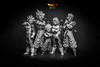 Dragon Ball - Resolution of Soldiers - The Saiyans v3 (michaelc1184) Tags: dragonball dragonballz dragonballsuper dragonballgt goku gohan vegeta trunks anime manga toys figures banpresto bandai resolutionofsoldiers saiyan