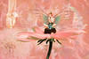 Blooming Pixies (margotd2) Tags: flowers daisy fractals fairy pixie shoes ballet ballerina wings coral delicate soft sprite garden fantasy abstract sitting