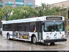 Winnipeg Transit #502 (vb5215's Transportation Gallery) Tags: winnipeg transit 1999 new flyer d40lf
