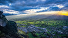 Sundawn 1 ... (acbrennecke) Tags: achimbrennecke rheintal dornbirn lakeconstance bodensee landscape landschaft sunset sonnenuntergang ray nikon5500