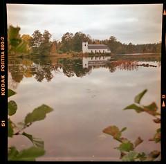 LOMO autumn mood (cotnari73) Tags: любитель oslättfors autumn sweden analogue lomo