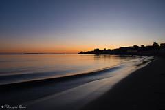 Santa Marinella October sunset (Fabrizio Aloisi) Tags: santamarinella sunset tramonto maresea nikon d5500 fabrizioaloisi red orange longexposition