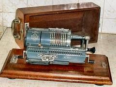Guy's Britannic Calculating Machine (John McLinden) Tags: guys calculatingmachine calculator mechanical manual winding numbers multiplication division pinwheel odhnertypepinwheelcalculator