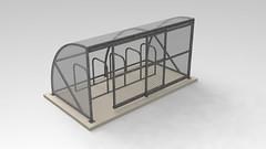 Cycle-racks.com-10-Space-Bike-Shelter-Sliding-Door-Render-1