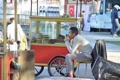 Bagel pedlar (yusufaltunel) Tags: fatih istanbul bagel pedlar simitci seyyar satıcı