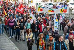 Foix (Ariège) (PierreG_09) Tags: foix ariège midipyrénées occitanie manif manifestation syndicat résistance