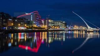 Dublin's night lights