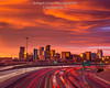 Dramatic Mountain Wave Cloud Over Denver Skyline (Bridget Calip - Alluring Images) Tags: 2017 alluringimagescolorado bridgetcalip colorado denver i25 interstate25 milehicity milehighcity queencityoftheplains rockymountains sunset dawn dramaticclouds dusk lenticularclouds lighttrails morning mountainwaveclouds skiesabove skyscrapers sunrise