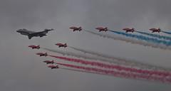 2017_09_0798 (petermit2) Tags: royalairforce raf rafdisplayteam royalairforceaerobaticteam aerobaticteam redarrows baehawkt1 bae hawkt1 hawk bombardiersentinelr1 bombardiersentinel bombardier sentinelr1 sentinel zj691 flypast rafscamptonairshow scamptonairshow rafscampton airshow scampton lincolnshire