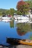 Whatever floats your boat (davebarratt39) Tags: fingerlake cayuga reflection upstatenewyork newyorkstate newyork ithaca water lake canoe boat